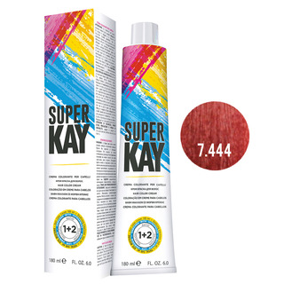 Super Kay - SUPERKAY HAIR COLOR CREAM 180 ML - BIONDO RAME EXTRA INTENSO