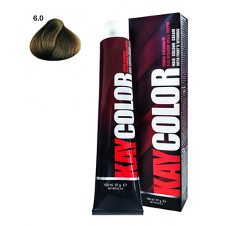 Kay Color - Crema Colorante Kay Color 6.0 Biondo Scuro Intenso