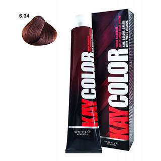 Kay Color - Crema Colorante Kay Color 6.34 Biondo Scuro Rame Dorato