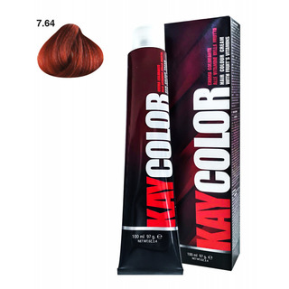 Kay Color - Crema Colorante Kay Color 7.64 Biondo Tiziano Powered